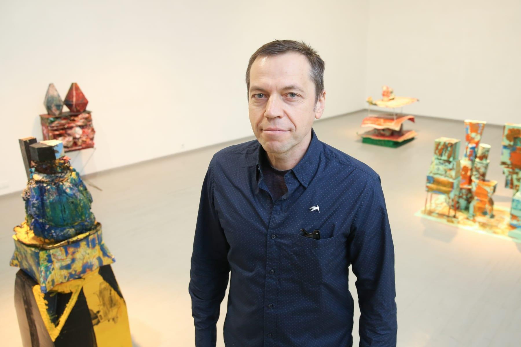Galerija VARTAI, 2019, Vilnius Aidas Bareikis solo exhibition