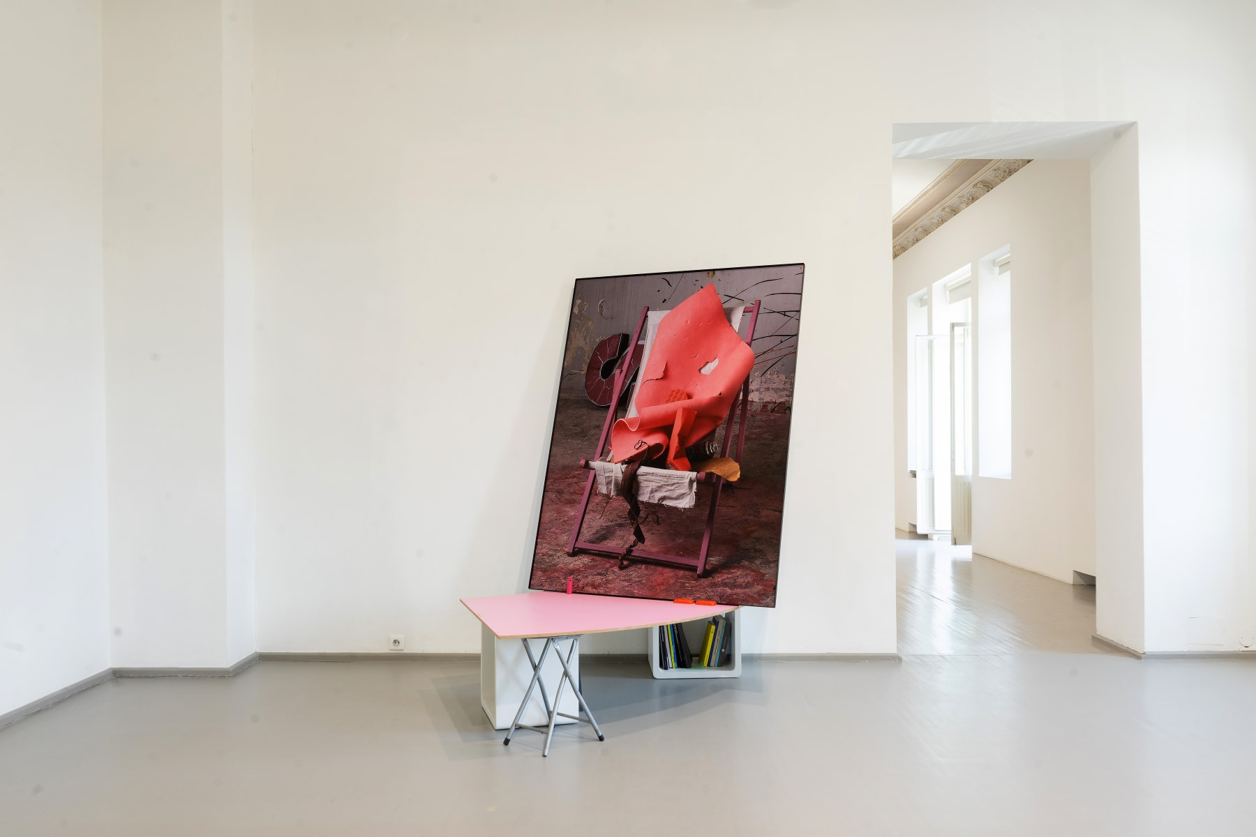 Galerija Vartai, 2020 Installation shot from Robertas Narkus's solo exhibtion