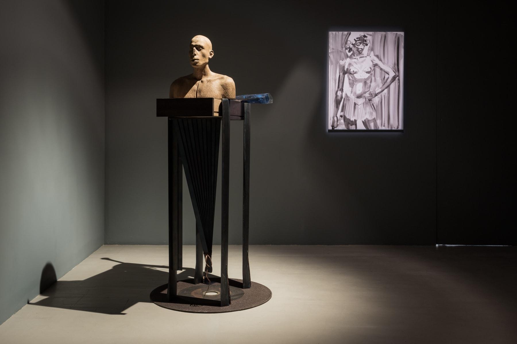 Galerija Vartai, 2017 Vytautas Viržbickas installation in group exhibition
