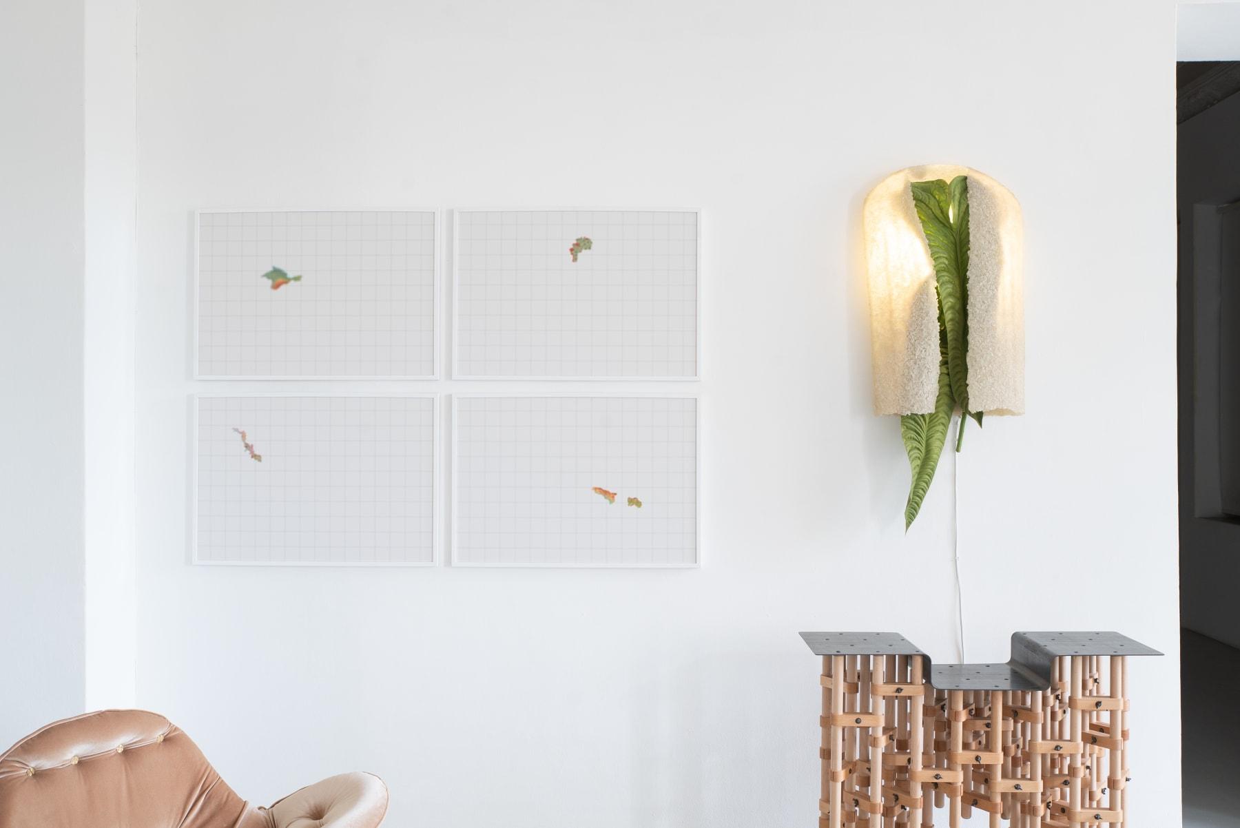 Galerija Vartai, 2020 Wall object