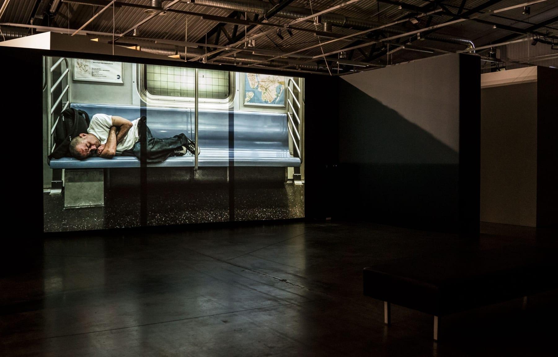 """CONTEMPORARY ART CENTRE, Vilnius, 2015 Solo exhibition """"Stuck On The Train"""