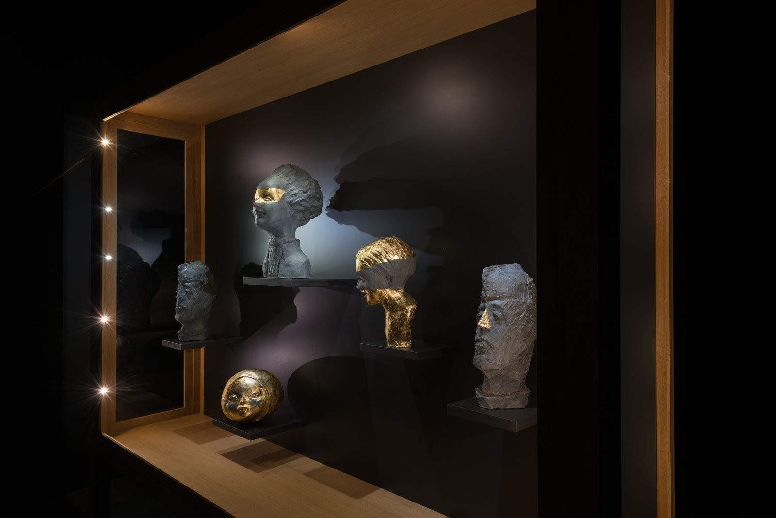 Galerija VARTAI, 2018 Installation shot from Janis Avotins solo exhibition
