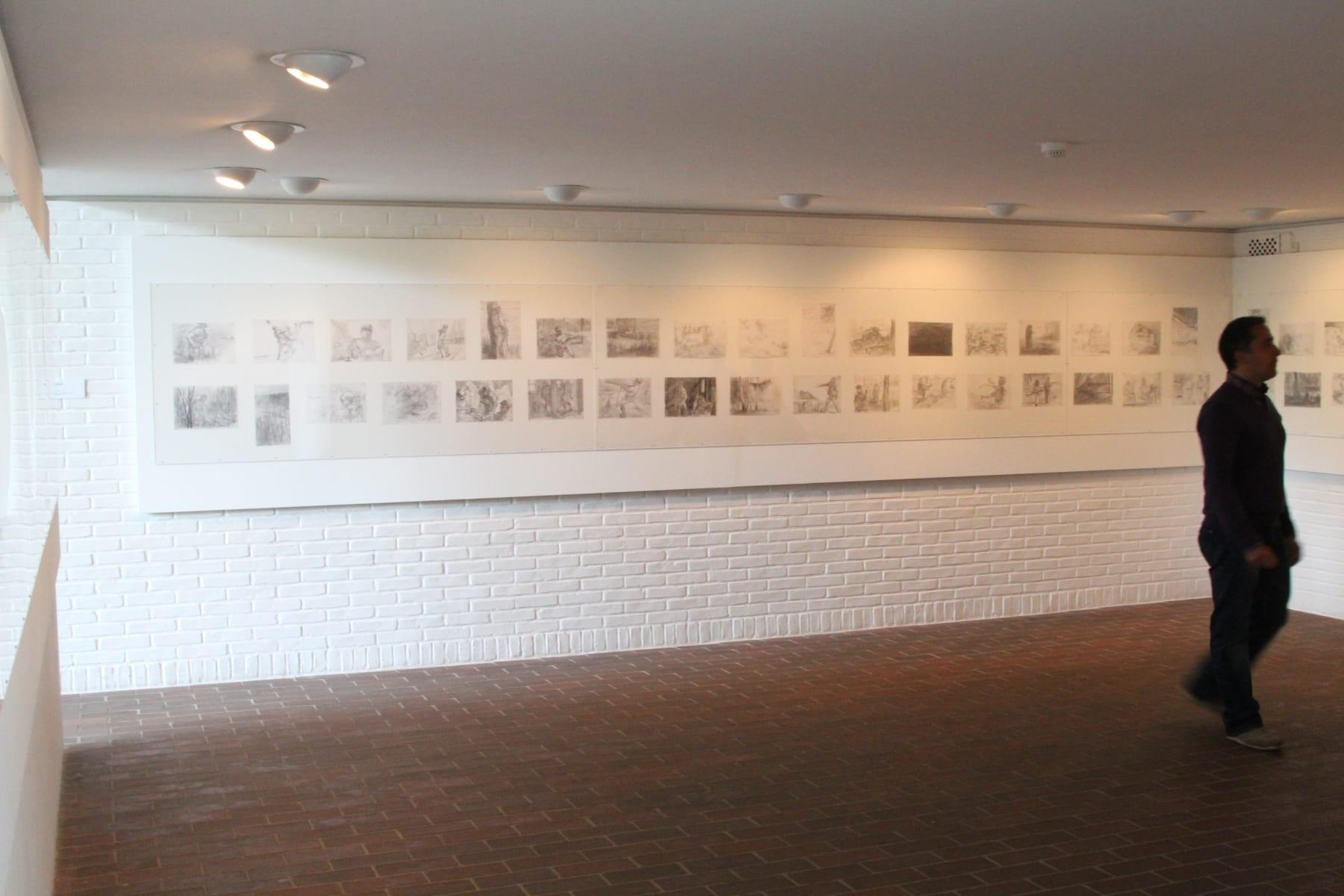 Louisiana Museum of Modern Art, 2005 M. Lukošaitis' series of 100 drawings