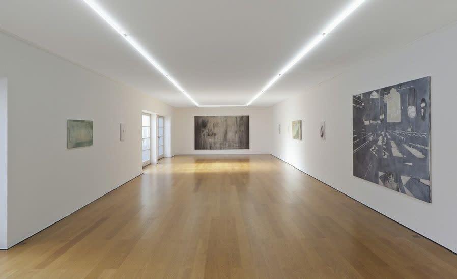 Galerie Rüdiger Schöttle, 2019 Installation shot from Janis Avotins solo exhibition
