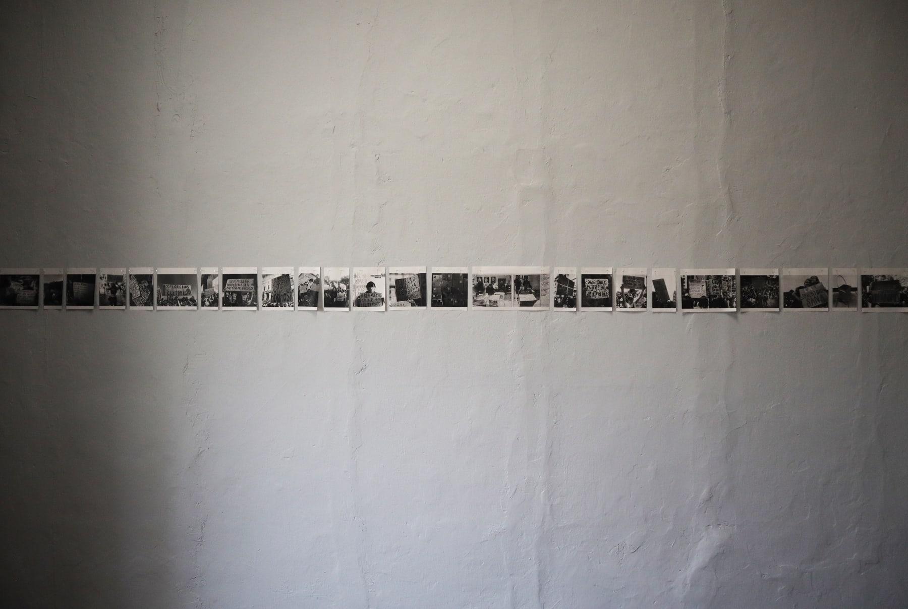 Natalia Iguiñiz , Dejo este cuerpo aquí, 2020 Installation view
