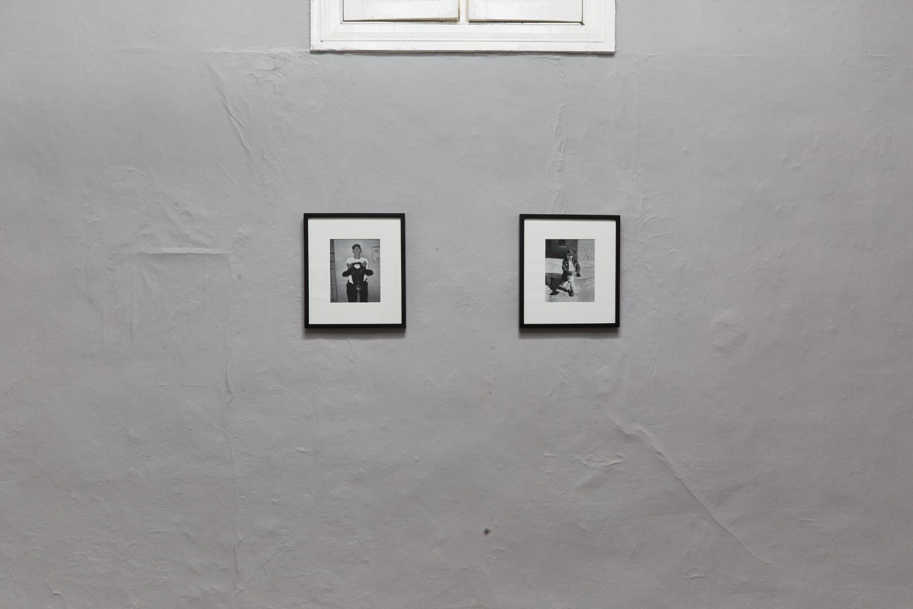 Sebastián Montalvo Gray, Portraits: Cajamala, 2020 Installation view