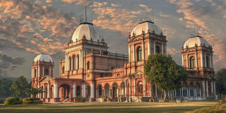 NUR MAHAL (Palace of Lights), Built 1872. The Abbasi palace for guests.