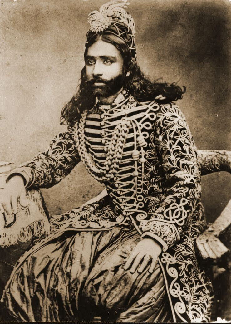 H.H SADIQ SADIQ MUHAMMAD KHAN ABBASI IV Maira Abbasi Great, Great Grandfather