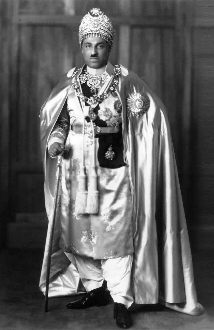 MAIRA ABBASI'S GRANDFATHER; THE LATE NAWAB SIR SADIQ MUHAMMAD KHAN ABBASI V