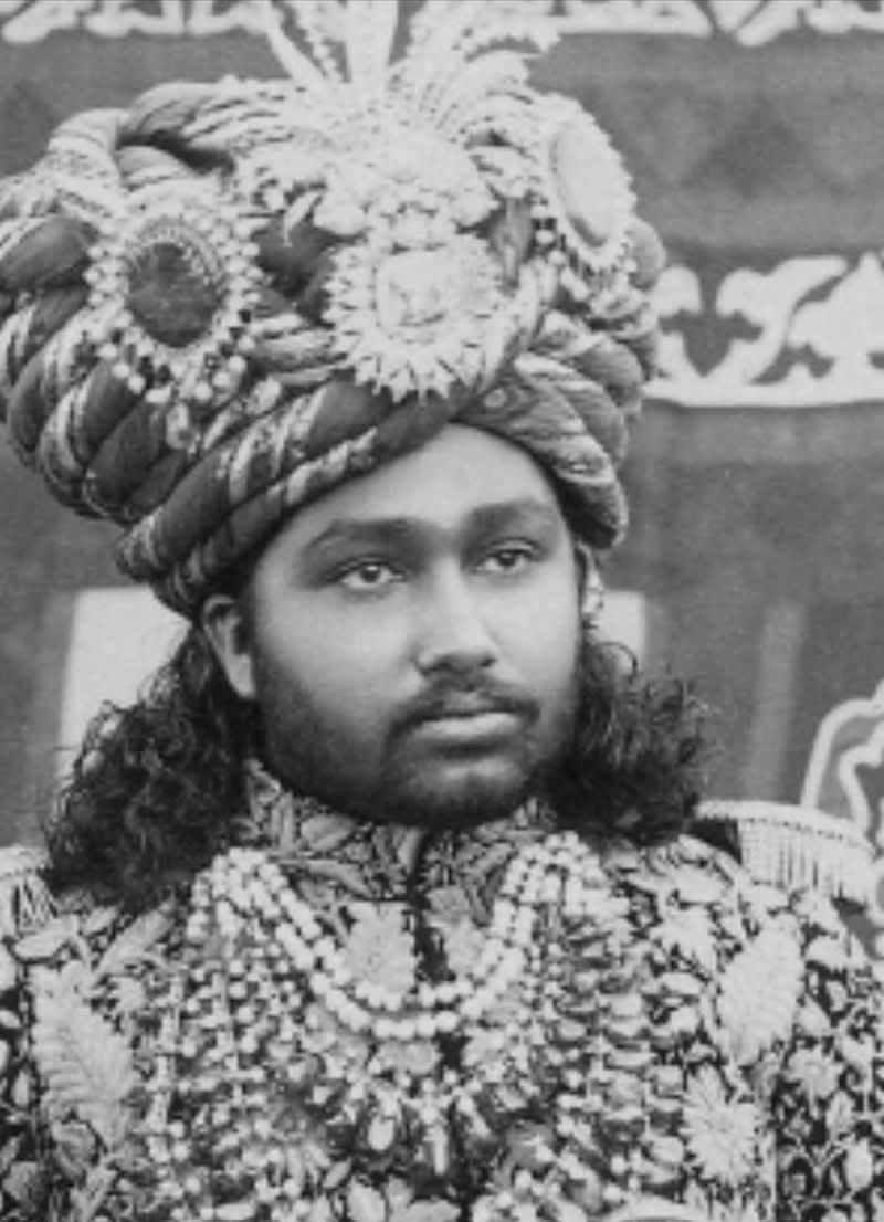 H.H BAHAWAL KHAN ABBASI 1883-1907. Maira Abbasi Great Grandfather