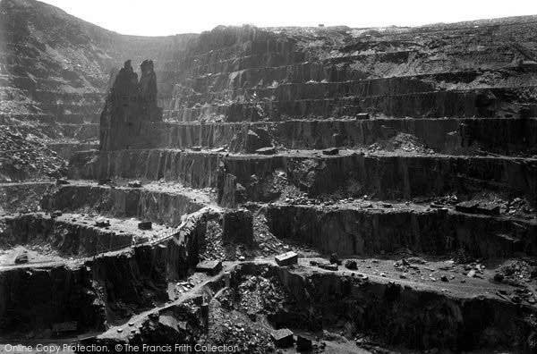Photo of 'Bethesda Quarry' in Penrhyn Wales, c. 1960
