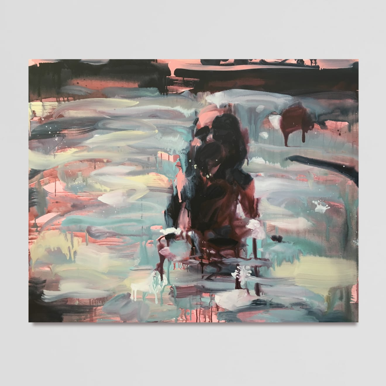 Laura Lancaster Phantom, 2019 Acrylic on canvas 120 x 150 cm 47 1/4 x 59 1/8 in