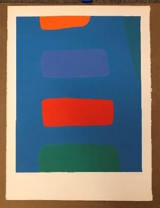 Dorothy Fratt, Jacob's Ladder, print, 22 x 30 in, Starting Bid: $1,500. Courtesy of Yares Art.