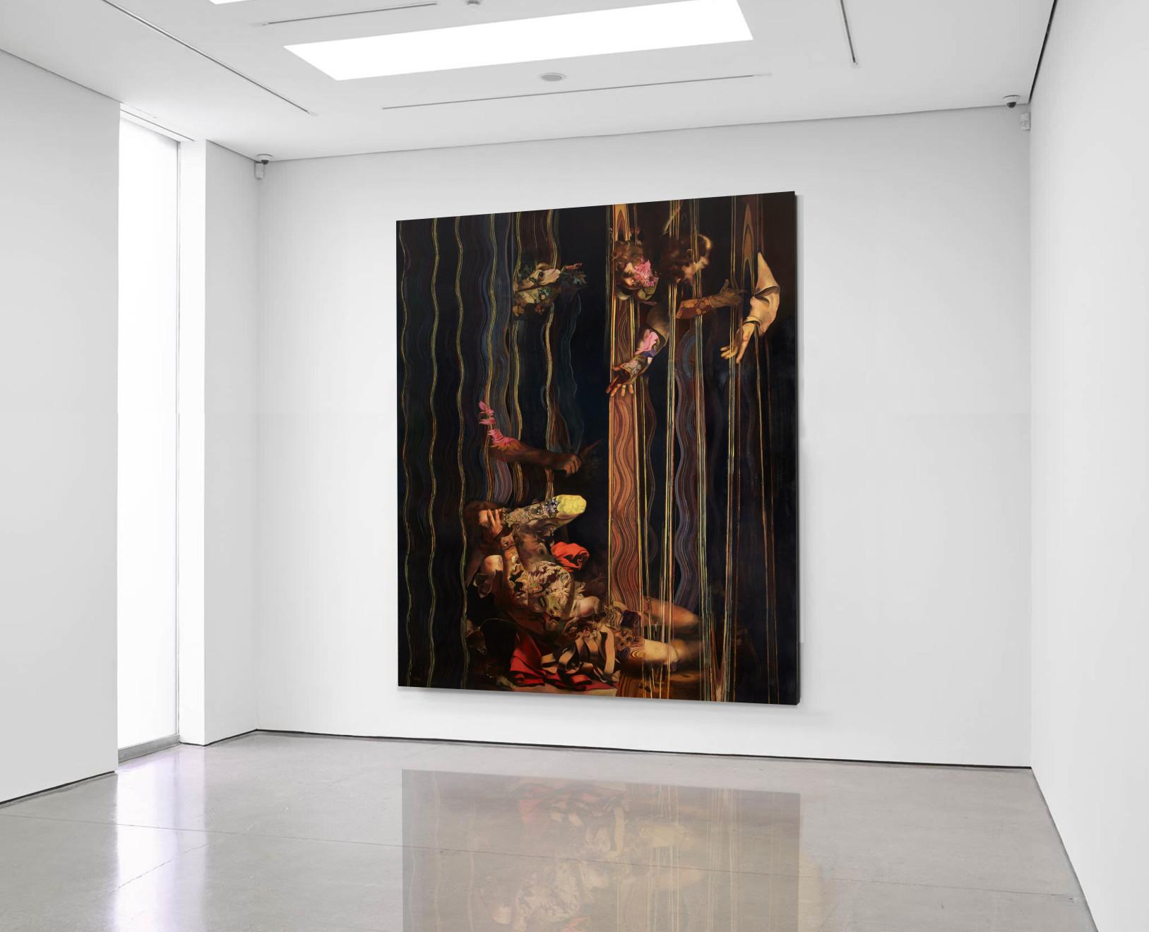 Wolfe von Lenkiewicz, Conversion of Saul Installation