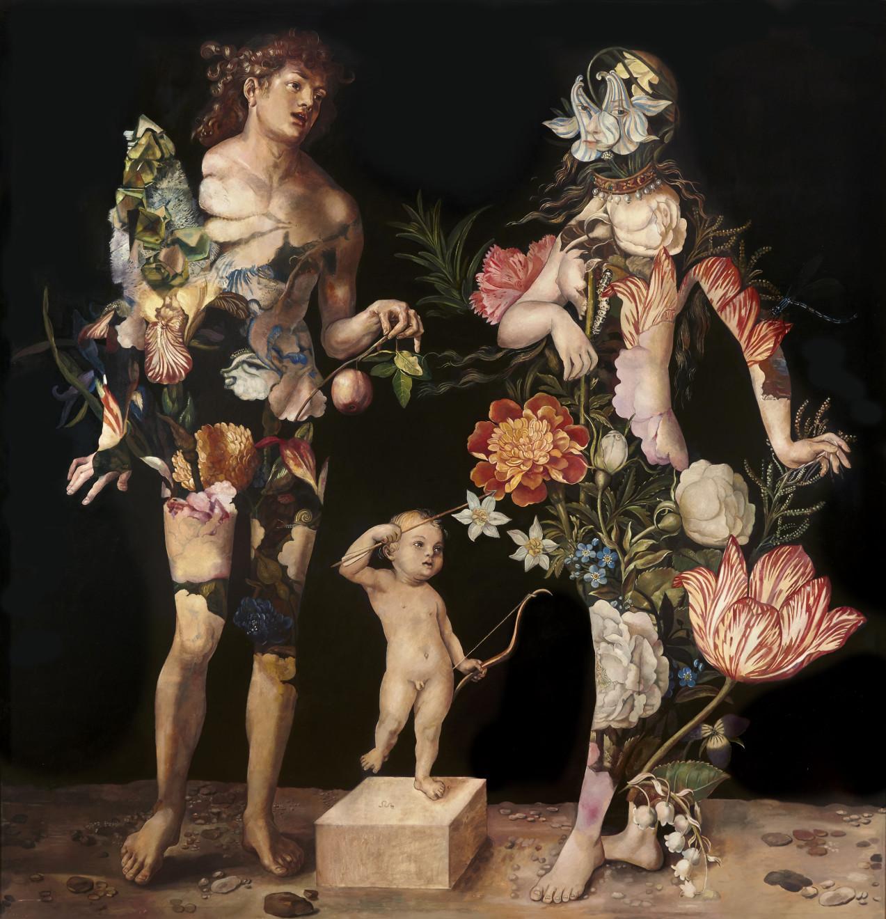 Wolfe von Lenkiewicz, Adam and Eve, 2019