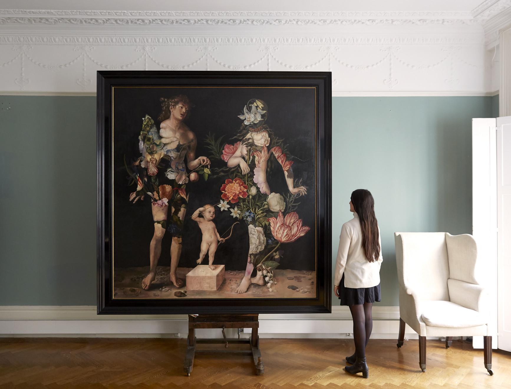 Wolfe von Lenkiewicz, Adam and Eve Installation