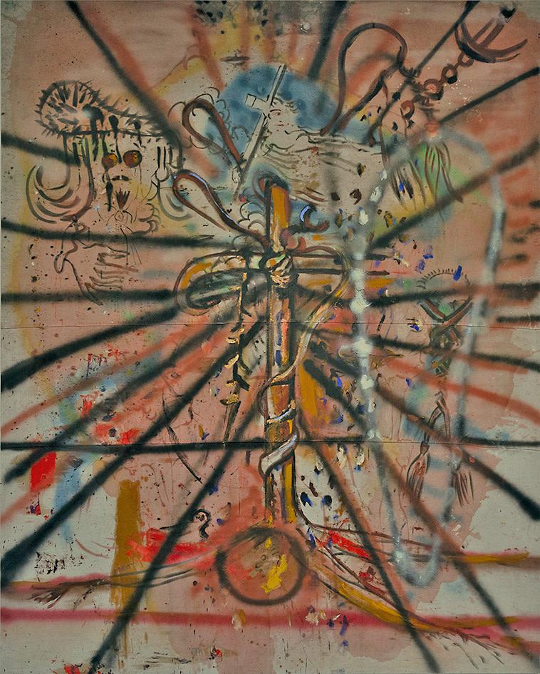 Julian Schnabel, Untitled, 1985