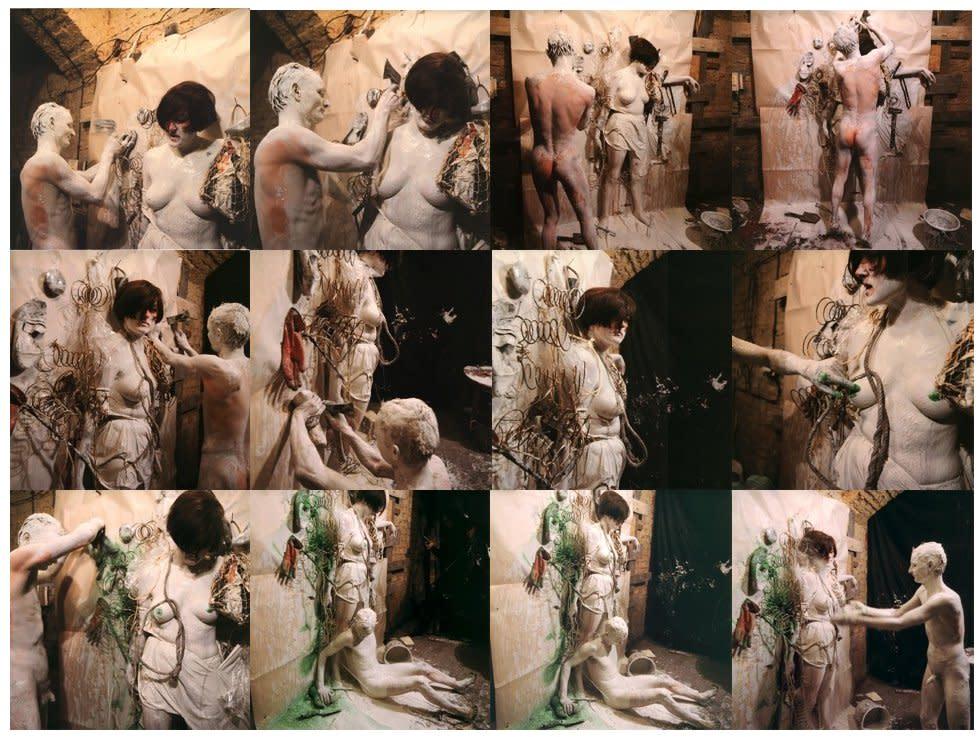 <div class=&#34;artist&#34;><strong>Günter BRUS</strong></div> 1938- <div class=&#34;title&#34;><em>Vitriolkabinett</em>, 1966</div> <div class=&#34;signed_and_dated&#34;>Signed</div> <div class=&#34;medium&#34;>Set of 12 colour photographs</div> <div class=&#34;dimensions&#34;>Each: 60 x 50 cm </div> <div class=&#34;edition_details&#34;>Edition of 35 Printed in 2012</div>