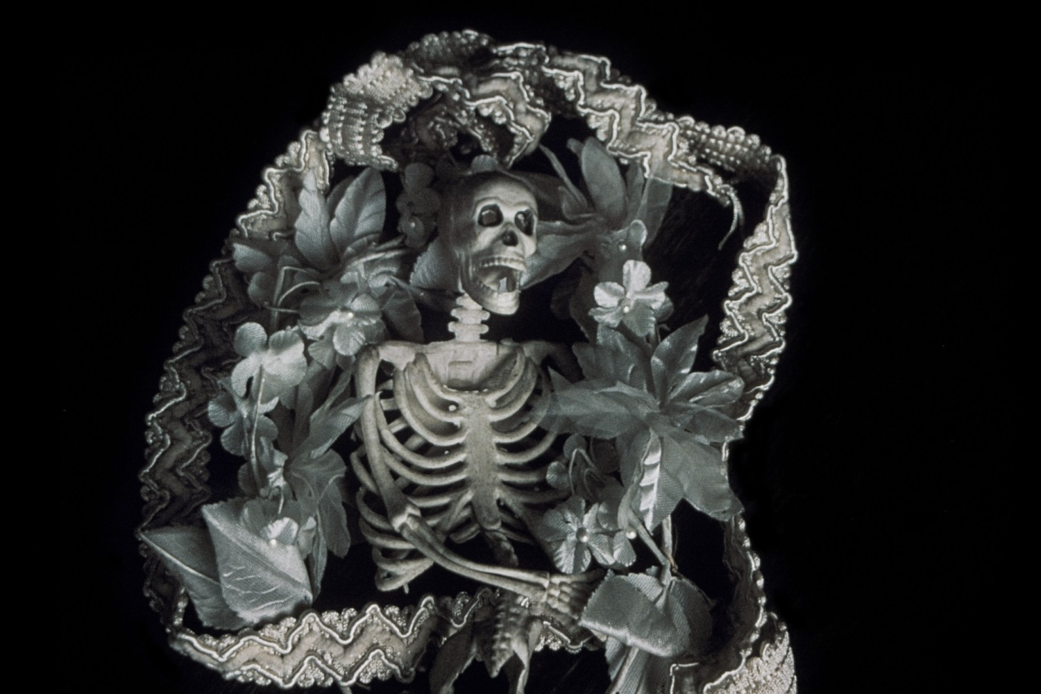 <div class=&#34;artist&#34;><strong>Jo SPENCE</strong></div> 1934 - 1992 <div class=&#34;title&#34;><em>The Final Project [Small skeleton 6]</em>, 1991 - 1992</div> <div class=&#34;signed_and_dated&#34;>Collaboration with Terry Dennett</div> <div class=&#34;medium&#34;>Digital print from medium format negative</div> <div class=&#34;dimensions&#34;>39 x 60 cm</div> <div class=&#34;edition_details&#34;>Edition of 2 plus 1 Estate Copy</div>