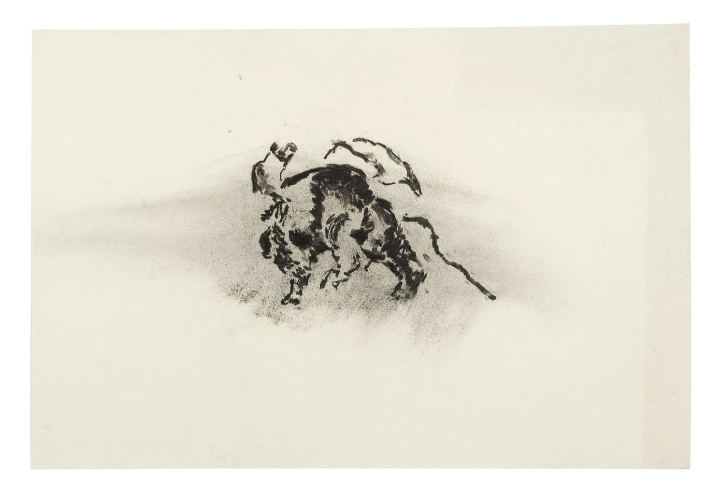 <div class=&#34;artist&#34;><strong>Nicholas POPE</strong></div> 1949- <div class=&#34;title&#34;><em>Untitled drawing</em>, 1980</div> <div class=&#34;medium&#34;>Charcoal on paper</div> <div class=&#34;dimensions&#34;>51 x 76 cm</div>