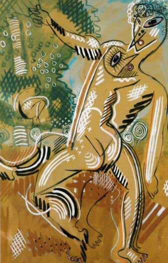 <div class=&#34;artist&#34;><strong>Francis PICABIA</strong></div> 1879 - 1953 <div class=&#34;title&#34;><em>Vénus et Adonis</em>, 1925-27</div> <div class=&#34;signed_and_dated&#34;>Signed</div> <div class=&#34;medium&#34;>Tempera and gouache on cardboard</div> <div class=&#34;dimensions&#34;>104 x 67 cm</div>