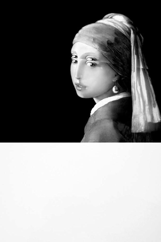 <div class=&#34;artist&#34;><strong>Mariella BETTINESCHI</strong></div> 1948 -  <div class=&#34;title&#34;><em>Vermeer, La Ragazza con l'Orecchino di Perla (Vermeer, Girl with a Pearl Earring)</em>, 2017</div> <div class=&#34;medium&#34;>Digital painting on plexiglass</div> <div class=&#34;dimensions&#34;>120 x 80 x 2 cm</div> <div class=&#34;edition_details&#34;>AP 2/5</div>