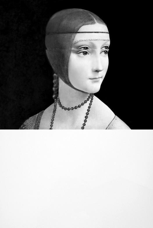 <div class=&#34;artist&#34;><strong>Mariella BETTINESCHI</strong></div> 1948 -  <div class=&#34;title&#34;><em>Leonardo, Dama con Ermellino (Leonardo, Lady with an Ermine)</em>, 2010</div> <div class=&#34;medium&#34;>Digital painting on plexiglass</div> <div class=&#34;dimensions&#34;>120 x 80 x 2 cm</div> <div class=&#34;edition_details&#34;>AP 4/5</div>
