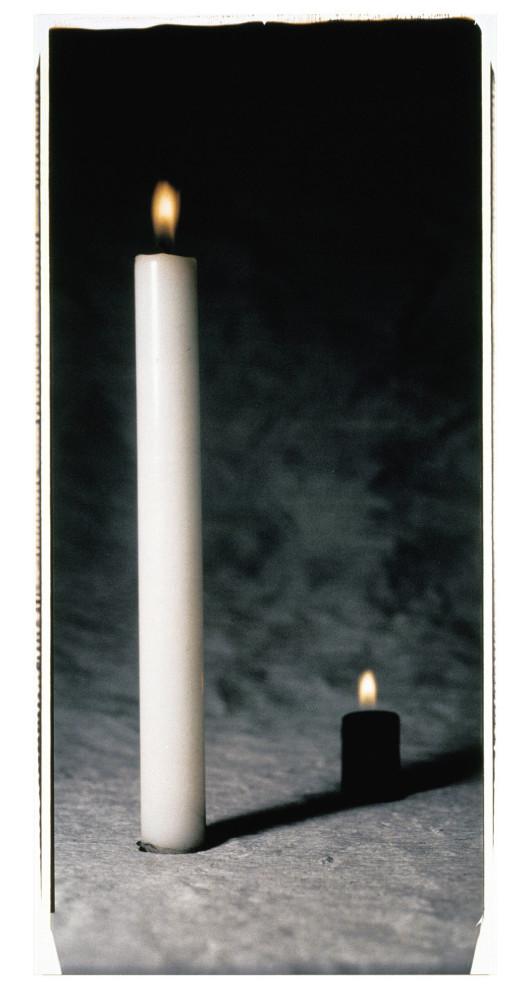<div class=&#34;artist&#34;><strong>ULAY</strong></div> 1943 - <div class=&#34;title&#34;><em>White and Black Candle</em>, 1992</div> <div class=&#34;medium&#34;>Original Polaroid</div> <div class=&#34;dimensions&#34;>229 x 112 cm<br /> Framed: 243 x 124 x 5 cm</div>