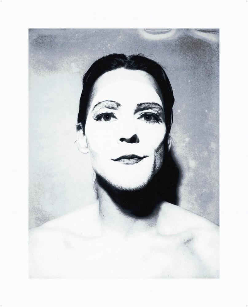 <div class=&#34;artist&#34;><strong>ULAY</strong></div> 1943 - <div class=&#34;title&#34;><em>Untitled (White Mask)</em>, 1974</div> <div class=&#34;medium&#34;>Digital print on Hahnemühle Baryta paper<br /> Printed 2018</div> <div class=&#34;dimensions&#34;>Sheet: 46 x 35.5 cm </div> <div class=&#34;edition_details&#34;>Edition 1 of 5 + 1 AP</div>