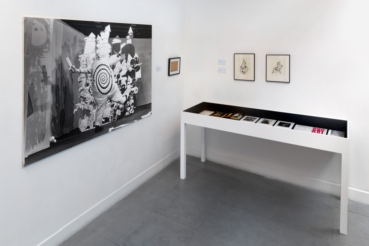 <p><span>Installation view,&#160;</span><i>Franciszka Themerson UBU</i></p><div>Photo by FXP Photography.</div>