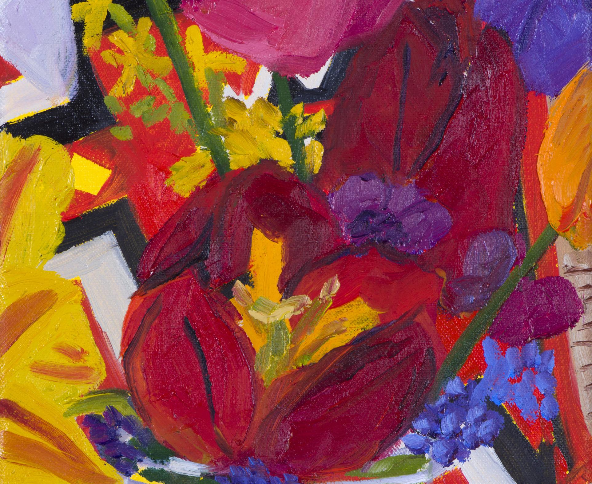 Anna Valdez, Garden Flowers, 2017
