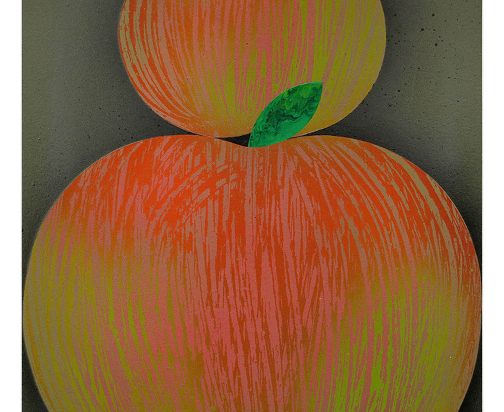 Casey Gray, Two Apples, 2017