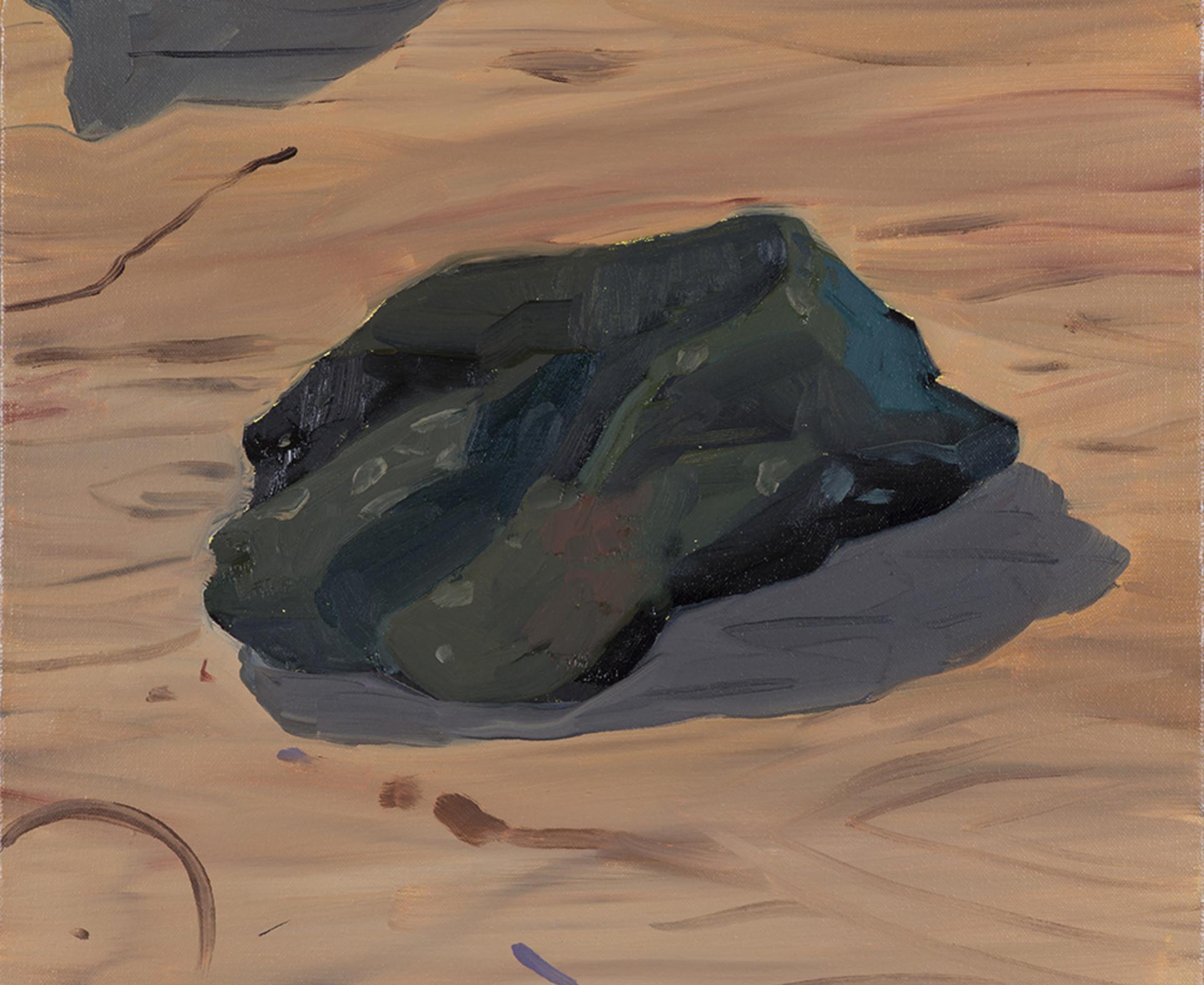 Anna Valdez, Green Rock, 2017