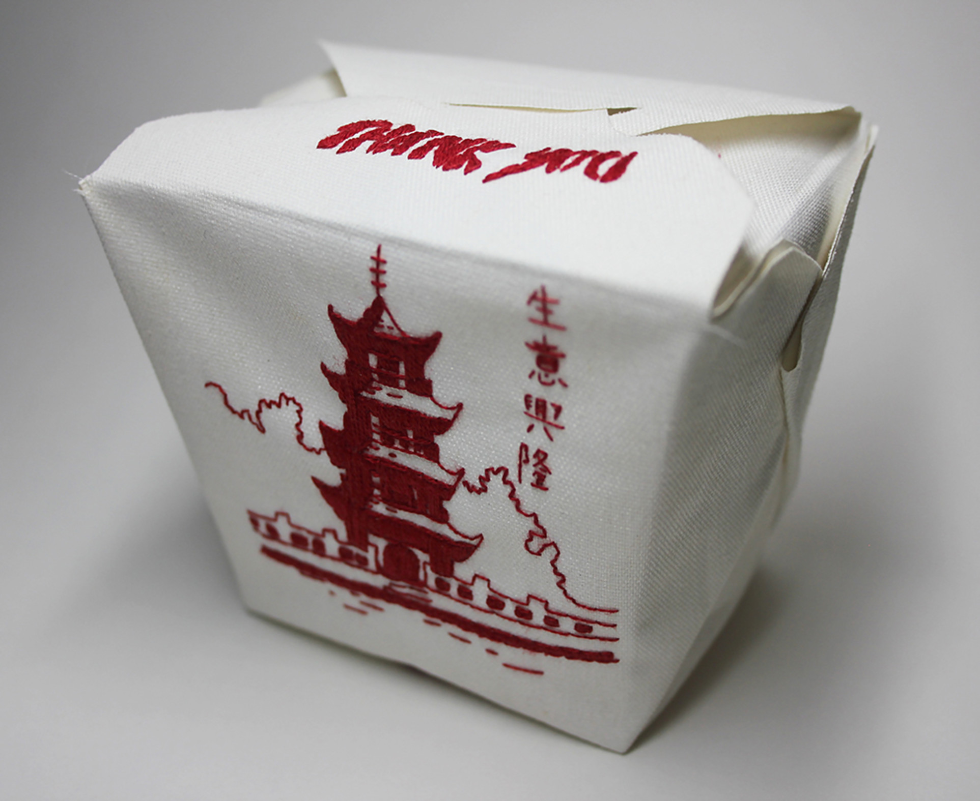 Jessica So Ren Tang, Take Out Box, 2013