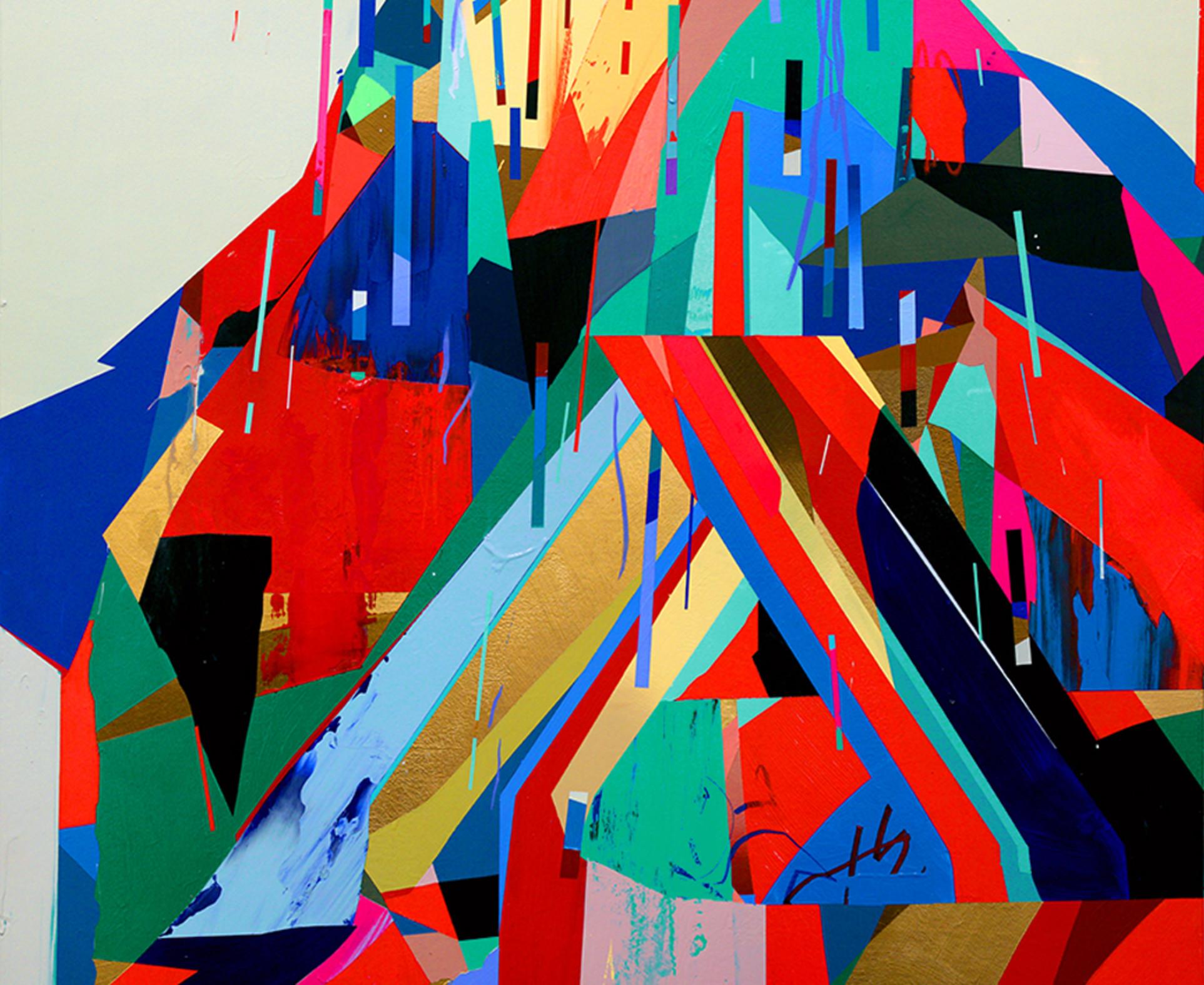 Erik Jones, Bridge On Mountain, 2014