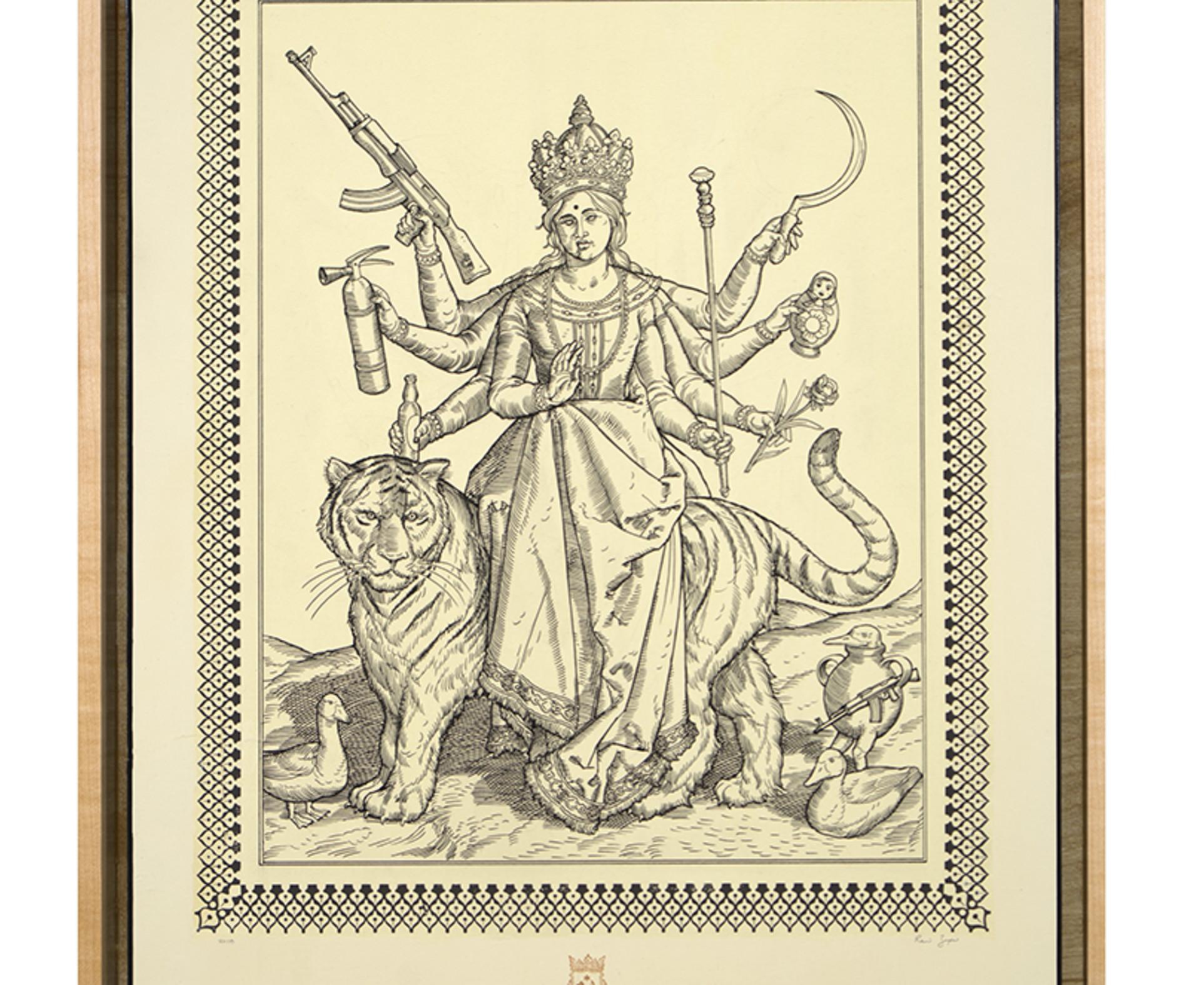 Ravi Zupa, German Renaissance Durga, 2018