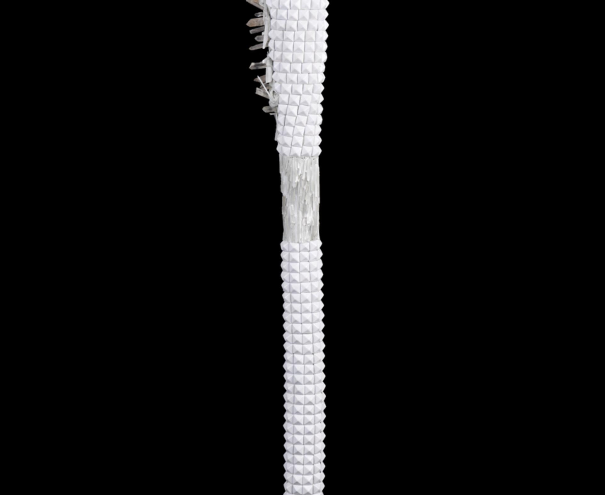 Lucien Shapiro, Quartz Selenite Axe, 2017