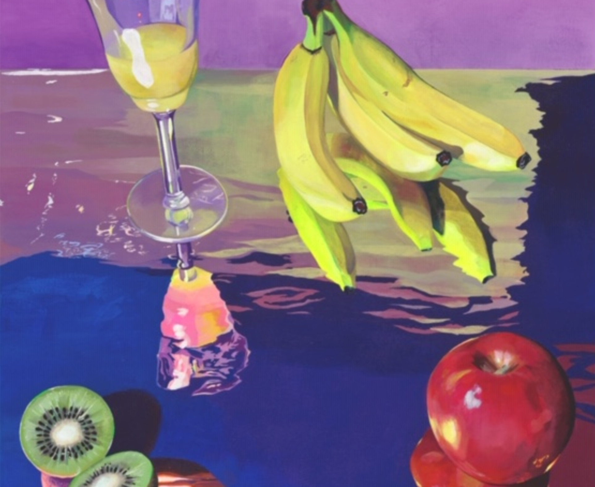 Amanda Dunham, Brunch on a Mirror, 2019