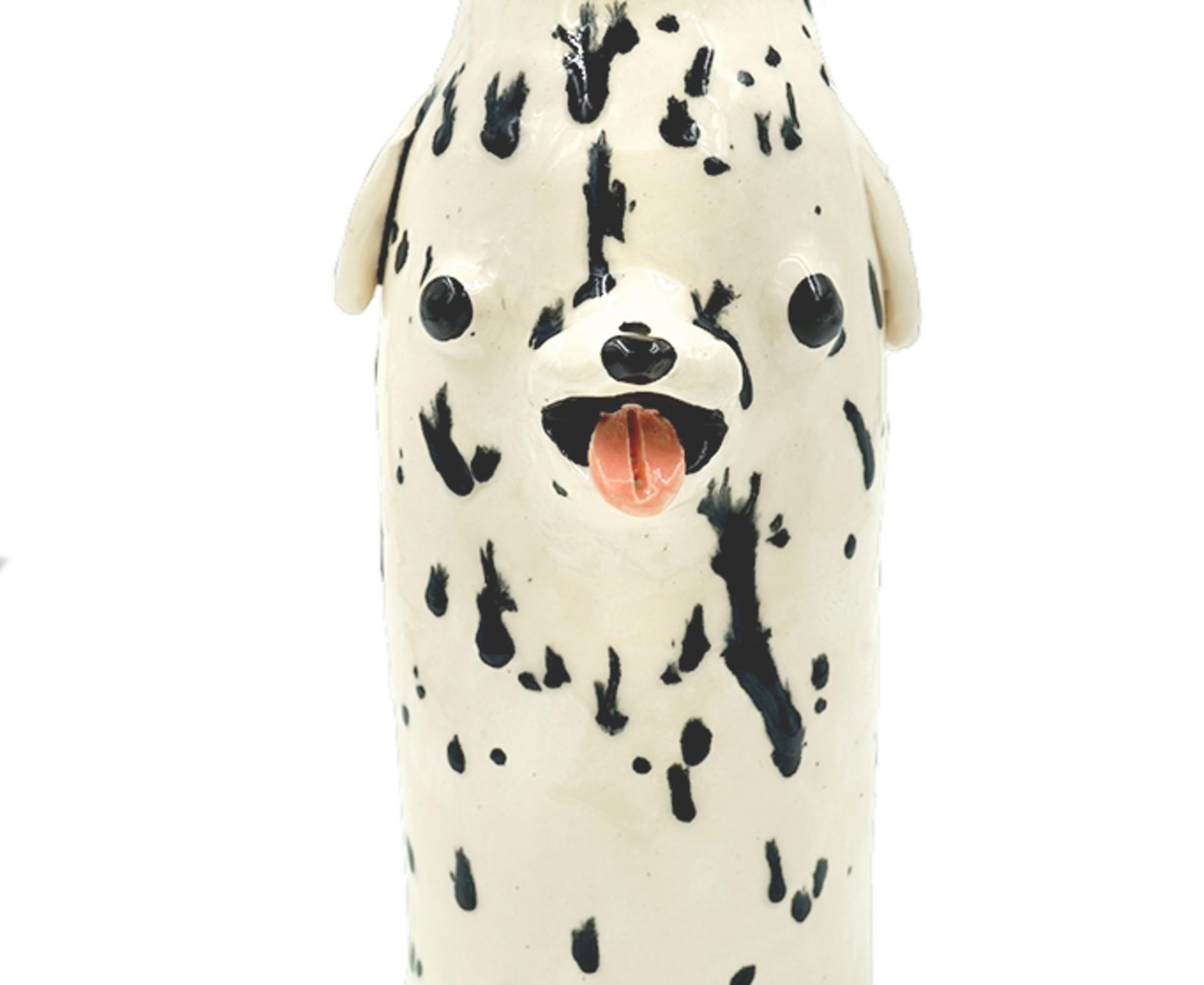 Katie Kimmel, Dalmatian Vase 2, 2019