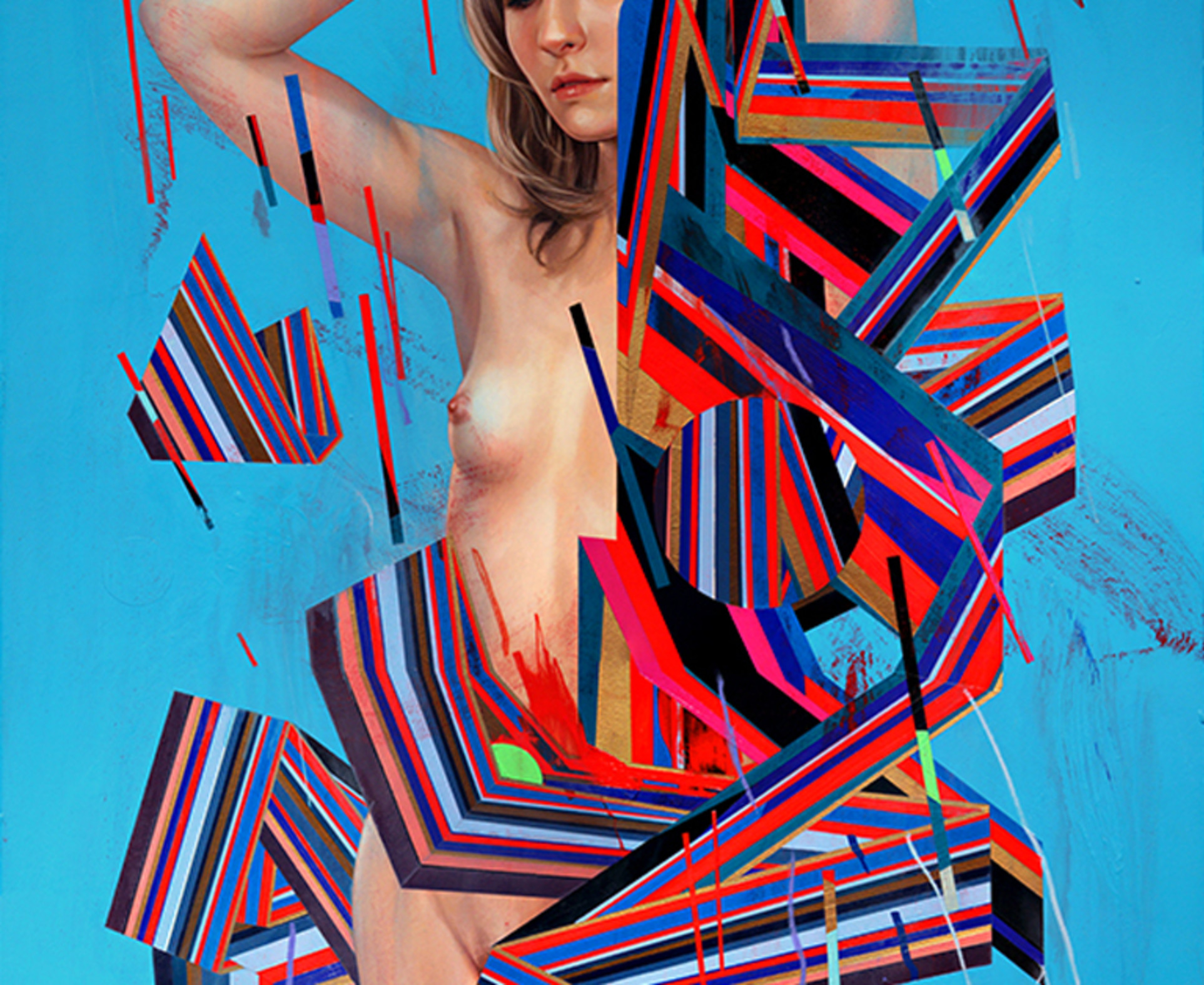 Erik Jones, Dress Of Ribbon, 2014