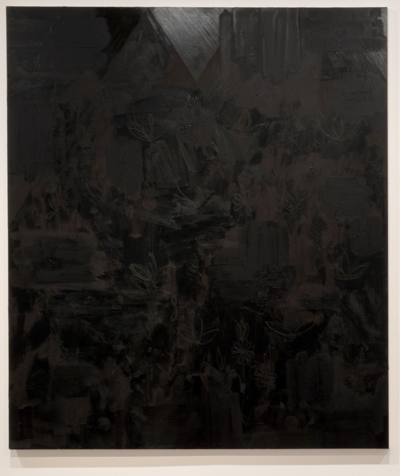 Kamrooz Aram, Untitled (Palimpsest #20), 2013