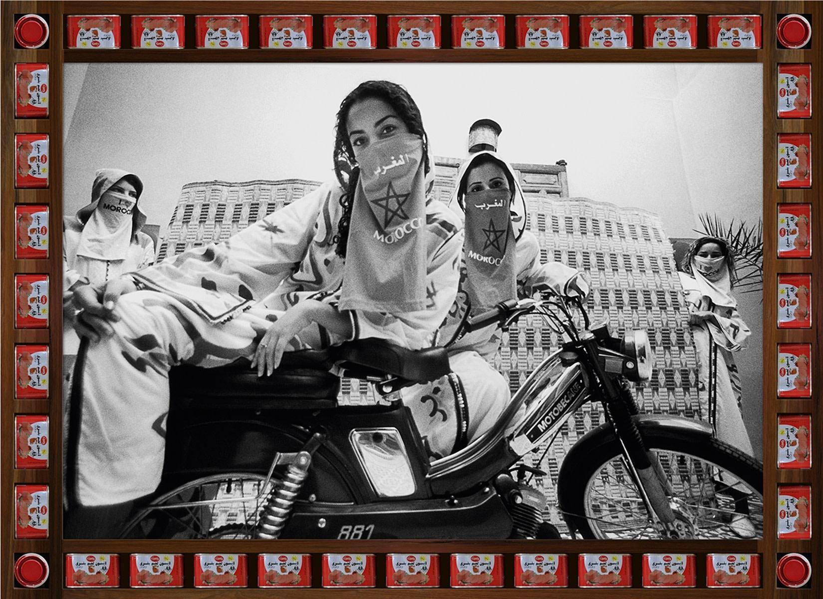 Hassan Hajjaj, Love Maroc, 2010/1431