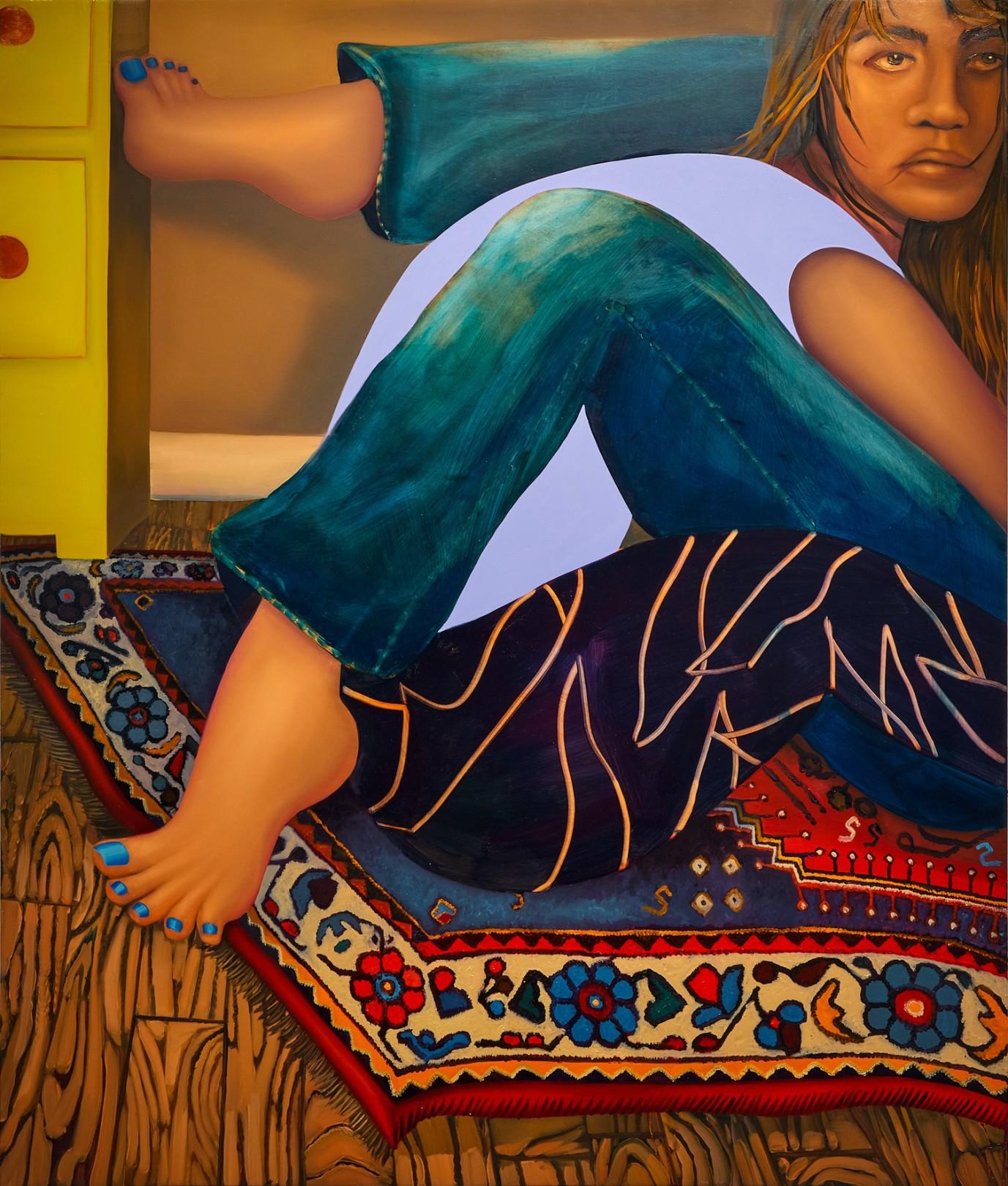 Reflex, 2021 Oil on canvas 137 x 117 cm. / 54 x 46 in.