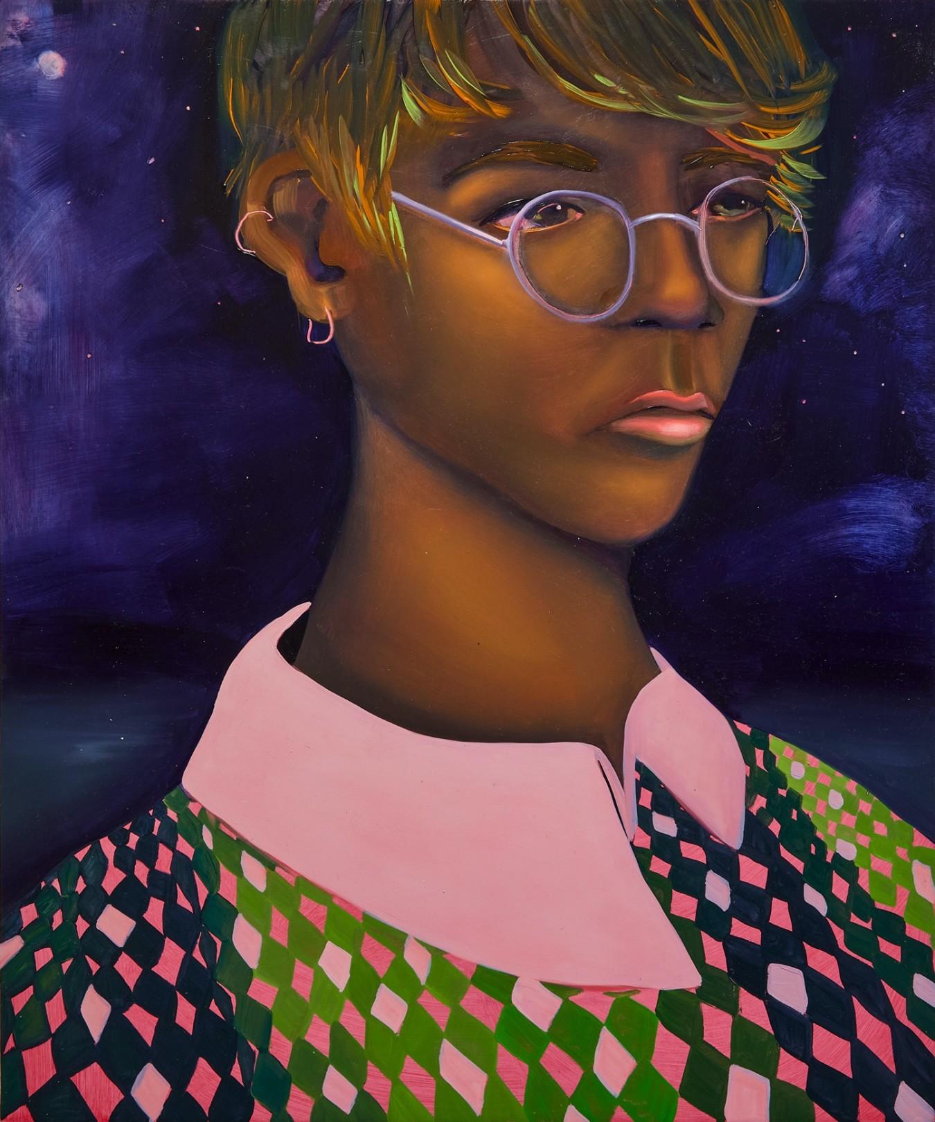 After Dark, 2021 Oil on canvas 61 x 51 cm. / 24 x 20 in.