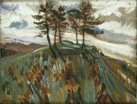 Trees Towards Glencoe, 1932
