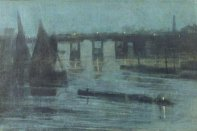 Nocturne, Old Battersea Bridge, 1885