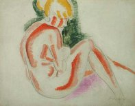 Seated Nude, c1927-30