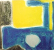 Small Blue and Ochre (Moonstone), 1964