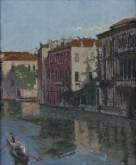 A Canal, Venice: Palazzo Montecuccoli, 1901-4
