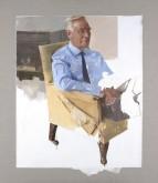 Portrait of Sir Richard Thompson, 2015